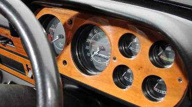 Ford Escort Mexico – instrument binnacle