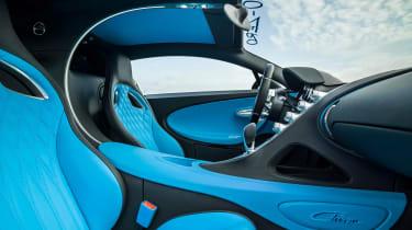 Bugatti Chiron '42' record breaker - interior