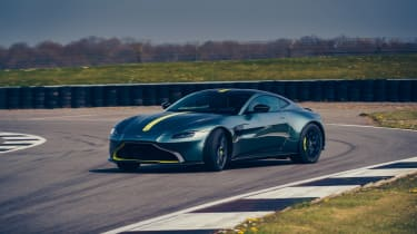 Aston Martin Vantage AMR revealed - front cornering