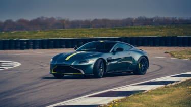 Aston Martin Vantage AMR revealed - front cornering