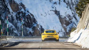 Porsche 718 Cayman GTS – Rear
