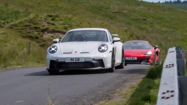 992 GT3 group test – 911, 600LT