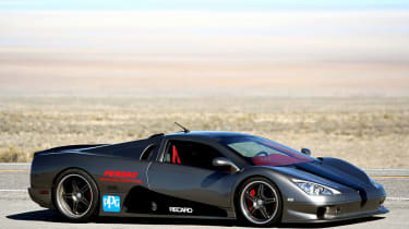 256mph SSC Ultimate Aero TT: Taking the fight to Bugatti, Shelby Super Cars created the 1183bhp twin-turbo Ultimate Aero