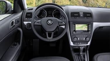 Skoda Yeti Outdoor interior dashboard steering wheel