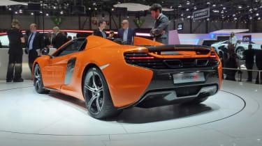 Geneva supercars: McLaren 650S Spider
