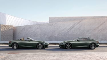 Jaguar F-type Heritage 60 Edition - side