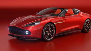 Aston Martin Zagato Speedster - front three quarter