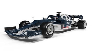 2021 Formula 1 racers – Alphatauri