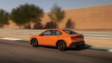 All-new 2022 Subaru WRX – rear tracking
