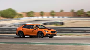 All-new 2022 Subaru WRX – cornering