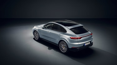 Porsche Cayenne S Coupe - top