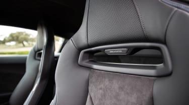 Audi R8 facelift review - seats