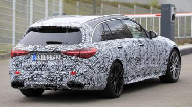 2022 Mercedes-AMG C63 S Estate – rear quarter 2
