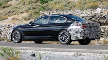 BMW 5-series facelift - rear quarter
