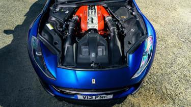 Ferrari 812 GTS TDF blue - engine 2