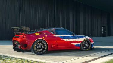Lotus Evora GT4 Concept - rear quarter
