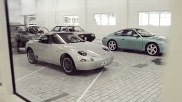 Porsche's secret museum bunker video