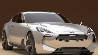 Kia GT Frankfurt motor show concept car