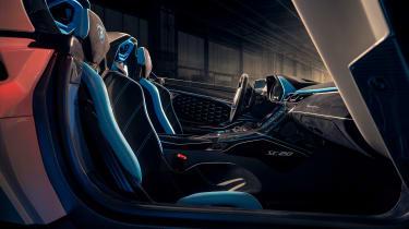 Lamborghini SC20 speedster interior