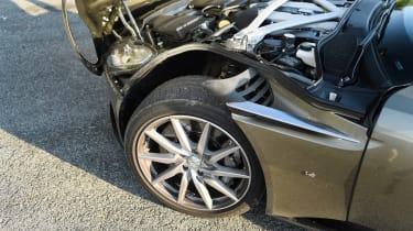 Aston Martin DB11 roadtrip - bonnet