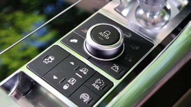 Range Rover Sport terrain response