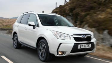 Subaru Forester XT petrol white front