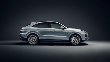 Porsche Cayenne S Coupe - side