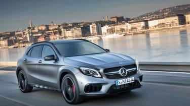 2017 Mercedes-AMG GLA45 - Front