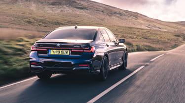 BMW 7-series review - 750 rear