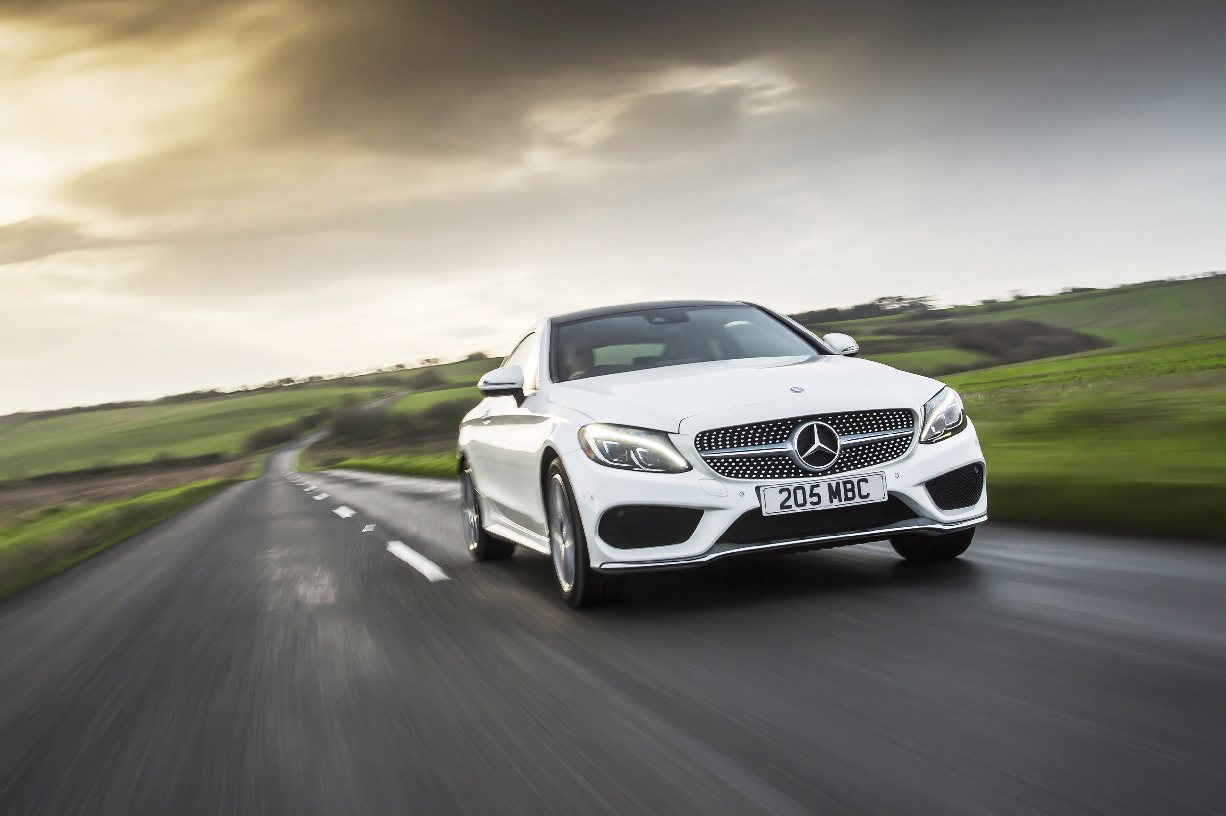 Mercedes-Benz C250d Coupe review - prices, specs and 0-60 time | | Evo