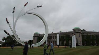 Goodwood Festival of Speed - central feature