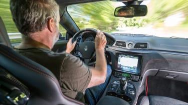 Maserati GranTurismo - Colin driving