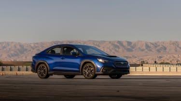 All-new 2022 Subaru WRX GT – front quarter