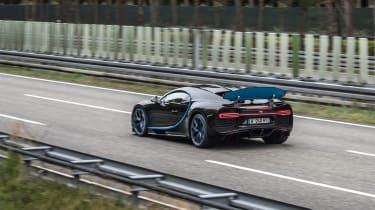 Bugatti Chiron '42' record breaker - brake