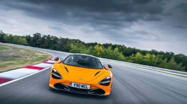 McLaren 720S track pack - nose