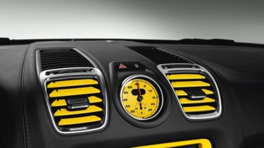 Porsche coloured air vents