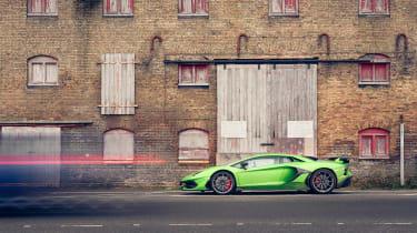 Lamborghini Aventador SVJevo – side