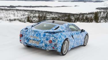 BMW i8 hybrid sports car
