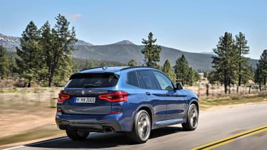 BMW X3 M40i - rear driving