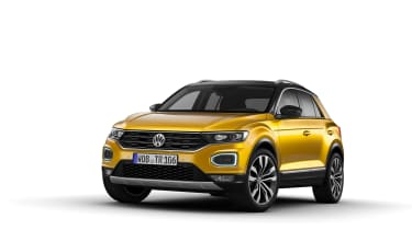 VW T-Roc - Yellow