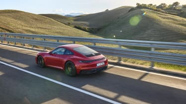 Porsche 911 GTS 992 – rear