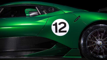 Brabham BT62 - number