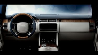 Range Rover Coupe SV - dash