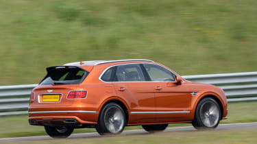 Bentley Bentayga Speed - rear quarter