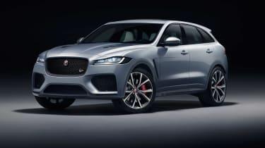 Jaguar F-Pace SVR - studio