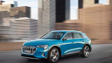 Audi e-Tron - front quarter