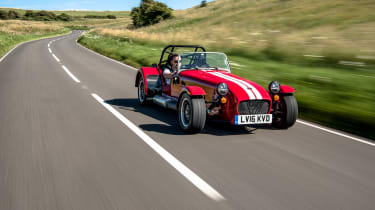 Caterham 310R – front tracking