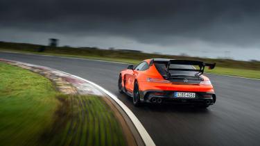 Mercedes-AMG GT Black Series - rear tracking