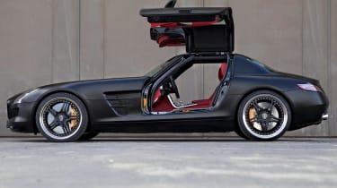 Mercedes SLS AMG 'Black' by Kicherer, side picture