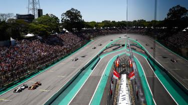 F1 Brazil - Williams